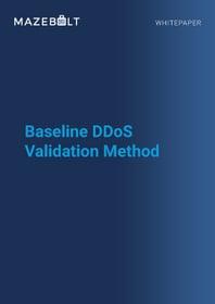 Whitepaper - Baseline DDoS Validation Method