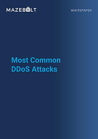 Whitepaper-Most Common DDoS Attacks