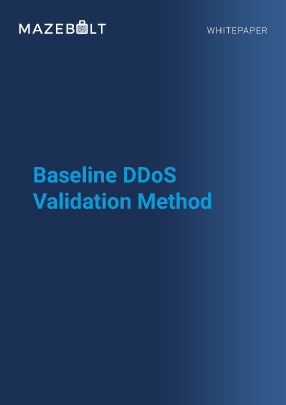 Whitepaper - Baseline DDoS Validation Method